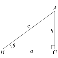 Calculate trigonometric function from the angle
